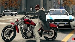 Watch Dogs 5 Stars SWAT Police Chase & Shootout