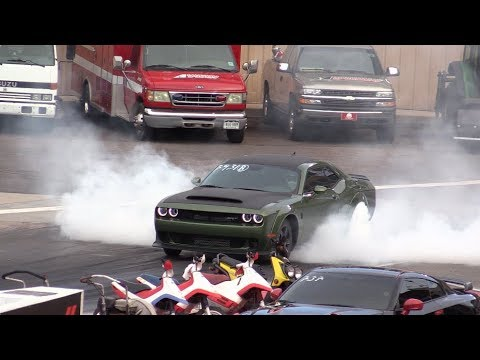 2018 Dodge Challenger Demon vs Nissan GTR