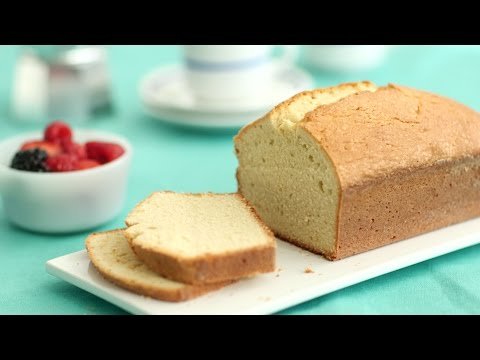 Video Vanilla Pound Cake