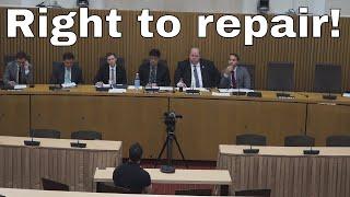 Presenting Christina Fisher - Technet ANTI-right to repair lobbyist