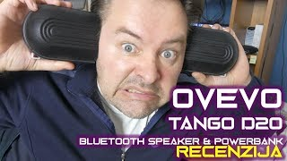 Ovevo Tango D20 - Bluetooth zvučnik i Power Bank 2x 4200 mAh (04.11.2018)