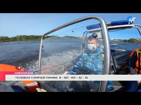 Сотрудники рыбоохраны вышли в очередной рейд на водоемы Новгородской области