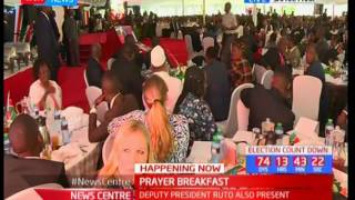 NATIONAL PRAYER BREAKFAST - 25th May 2017 - DP William Ruto addresses the gathering