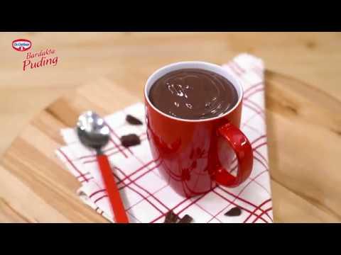 Bardakta Puding Çikolatalı