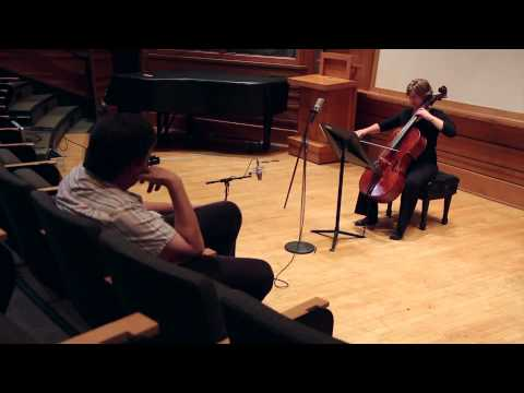 "Cellist Kate Dillingham records ""Crossings: New Music For Cello"""