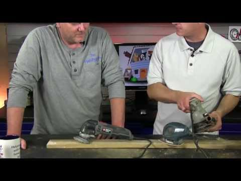 Which Sander is Right For You – Selecting Power Sanders