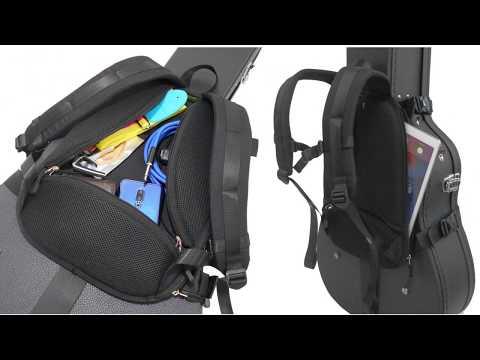 OBPS Black Flat ORTEGA Back Pack Strap