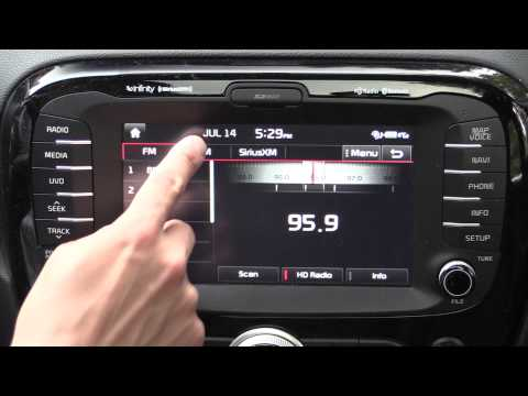 Kia UVO Infotainment & Navigation Review