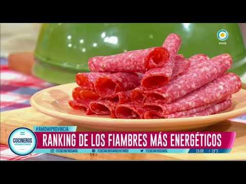El ranking de los fiambres más calóricos
