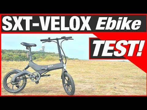 SXT VELOX faltbares Ebike für 1.100,-Euro, Pedelec Test, Anleitung, Sxt Scooters Review (DEU-GER)