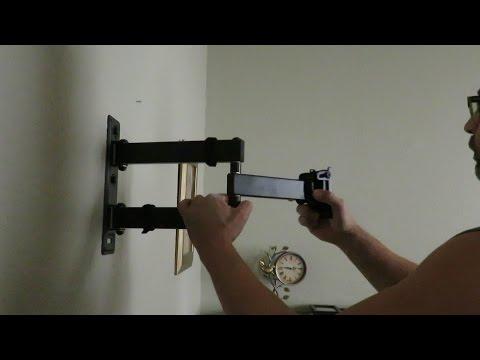 Como instalar un soporte de tv articulado o brazo