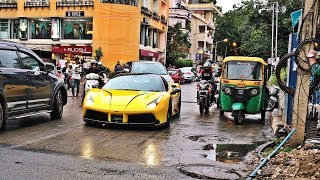 Supercars in India   2018 August   Bangalore   GT2 RS, Novitec 458, 991.2 GT3