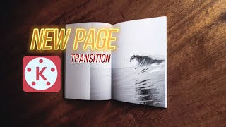 KineMASTER TUTORIAL NEW PAGE TRANSITION|Basic Editing Tutorial|HowTo & Style