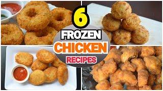 6 FROZEN CHICKEN RECIPES 2019 By (YES I CAN COOK) #FrozenChicken #FrozenRecipes #FrozenSnacks