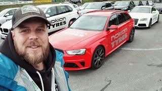 На Audi RS5 по ОПАСНОМУ треку. Audi Q5 Hybrid. Новые шины Nokian