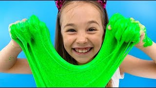 СЛАЙМ ЧЕЛЛЕНДЖ большой против маленького / Битва слаймов от World Toys TV