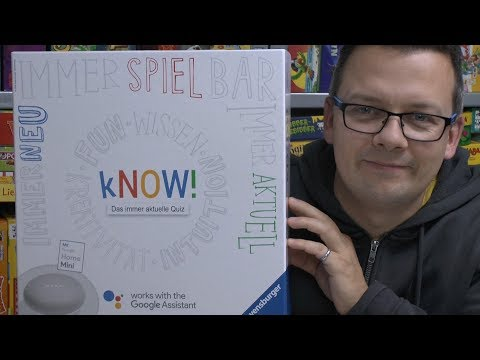 Know! (Ravensburger) - ab 10 bzw. 16 Jahre - App Quizspiel mit Google Assistent