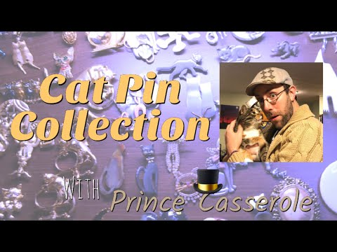 Cat Pin Collection | Brooch Collection | Vintage Meow (2018)