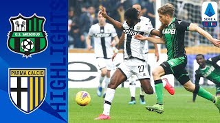 Sassuolo-Parma 0-1, highlights