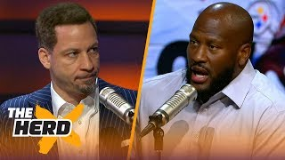 James Harrison on what loyalty means in professional sports | NFL | THE HERD