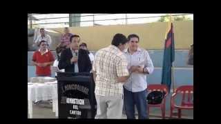 preview picture of video 'Felipe Castro Cedeño, Alcalde cantón Palestina entregó 137 escrituras publicas'