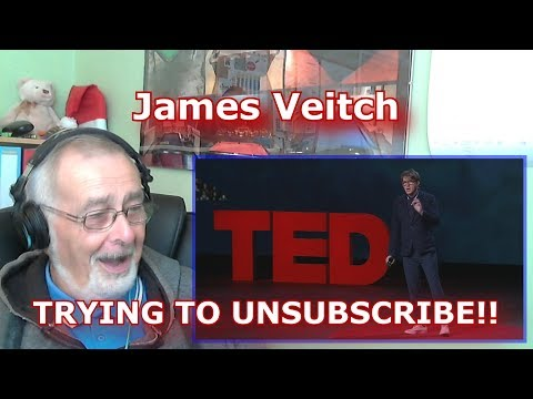 James Veitch Trying to unsubscribe - GRANDPA REACTION (видео)