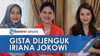 Melahirkan Anak Pertama, Gista Putri Bagikan Momen Dijenguk Iriana Jokowi dan Istri Menteri Kabinet