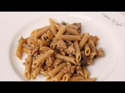 Penne Marsala Recipe – Laura Vitale – Laura in the Kitchen Episode 476