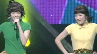 Davichi - Love & War (다비치-사랑과전쟁) @SBS Inkigayo 인기가요 20080713
