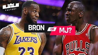 LeBron James vs Michael Jordan   Who Faced The Tougher Finals Opponents