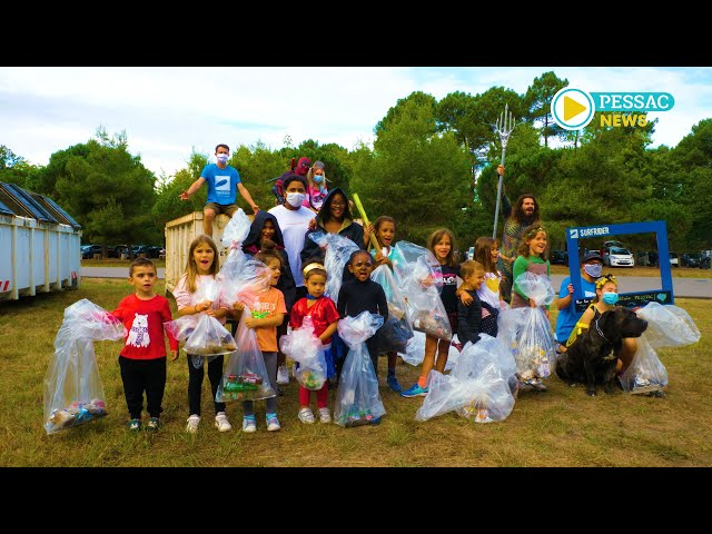 Pessac News - Le World clean up day 2020