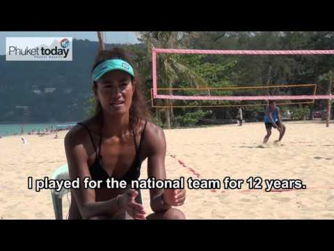 Yupa brings her beach volleyball dreams to Phuket