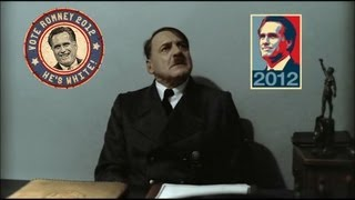 Hitler is informed Obama is re-elected
