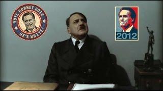 Hitler is informed Obama is re-elected