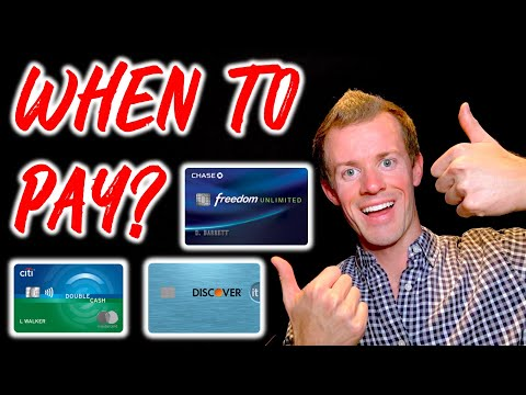 CREDIT CARDS 101: When To Pay Credit Card Bill To Increase Credit Score
