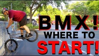 THE KEY TO LEARNING TRICKS IN BMX!