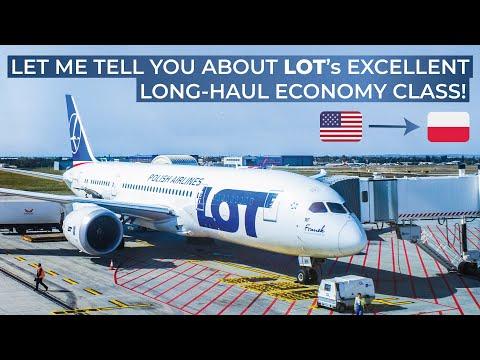 TRIPREPORT   LOT Polish Airlines (ECONOMY)   New York Newark - Warsaw   Boeing 787-8