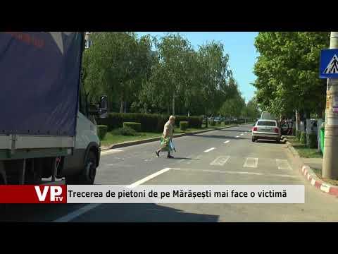 Trecerea de pietoni de pe Mărășești mai face o victimă