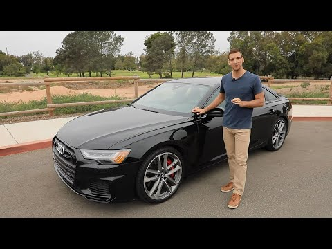2020 Audi S6 Test Drive Video Review