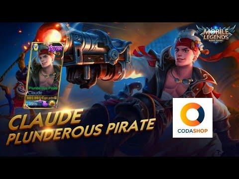 Cara beli starlight member Claude Plunderous Pirates (Starlight November) CODASHOP Android