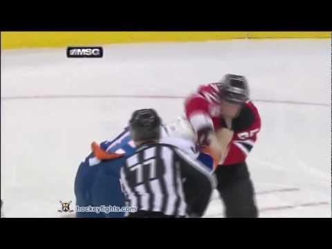 Micheal Haley vs Cam Janssen