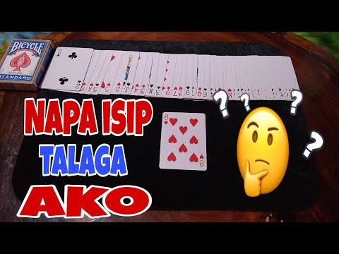 Hindi kailangan ang bilis ng kamay/Magic Card trick/tagalog tutorial/ECO Tv