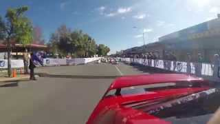 preview picture of video 'Pedal Prix race 1 Loxton (Course Car View)'
