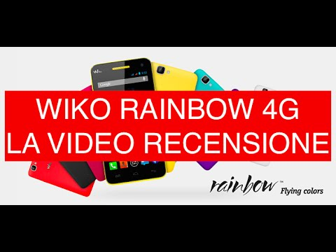 Review Wiko Rainbow 4G LTE, video recensione in Italiano