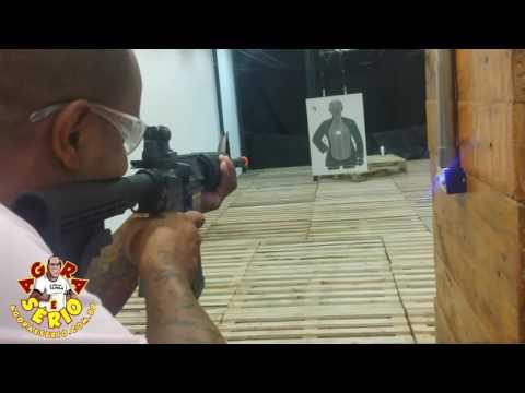 Repórter Favela no Manda Bala no Shopping Taboão da Serra