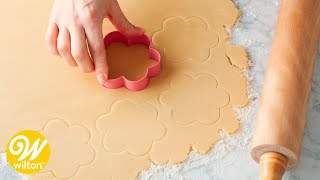 Easy Cut Out Sugar Cookie Recipe | Wilton