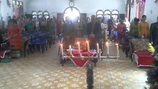 Ibadah  Natal 25 Desember Gereja Pentakosta 2015