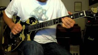 Deep Purple Love Don't Mean A Thing guitar solo cover