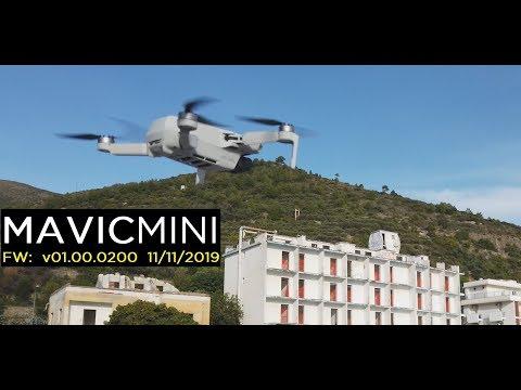 DJI MAVIC MINI SFIDA VENTO FORTE e Wi-Fi CE   Prova in Volo - Recensione