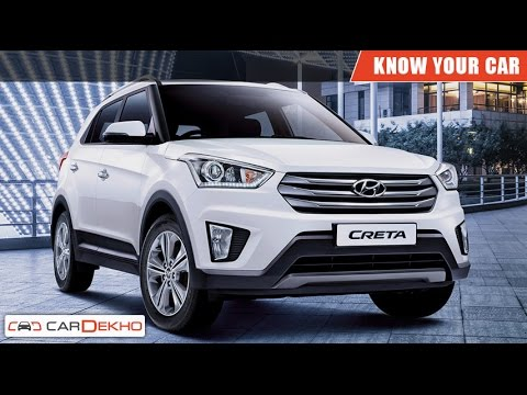 Know Your Hyundai Creta | Review of Features | CarDekho.com